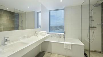 Comfort hoekkamer met open badkamer (30 m2) | Van der Valk Hotel ...