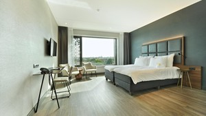 Comfort room for disabled guests Van der Valk Hotel Nijmegen-Lent